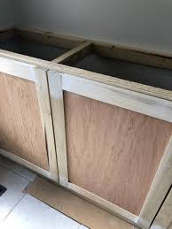 how to build base cabinets out of plywood diy kitchen cabinets for 200 a beginner s tutorial