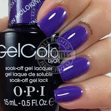opi gelcolor swatch gallery u2013 chickettes soak off gel polish