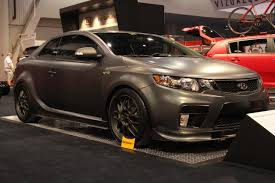 sema 2010 kia forte koup r photo gallery autoblog