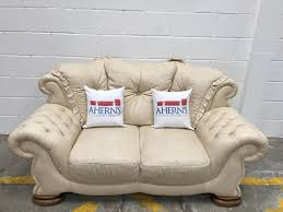 Chesterfield Sofa Vintage by Original Vintage Cream Leather Chesterfield Style Pendragon Sofa