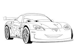 jeff corvette car coloring pages race car coloring pages free