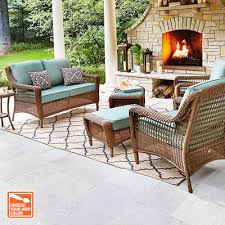 Patio Furniture For Your Outdoor Space The Home Depot - Outdoor furniture set