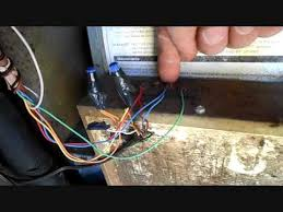 wiring the honeywell focuspro 5000 and replacing a contactor youtube