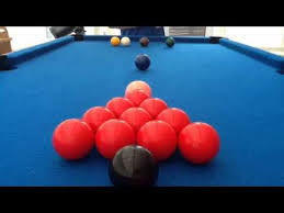 how to set up a pool table how to set up snooker balls youtube