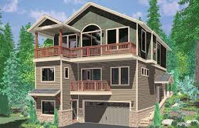 narrow lot luxury house plans narrow lot lake house plans lake house plans walkout basement unique