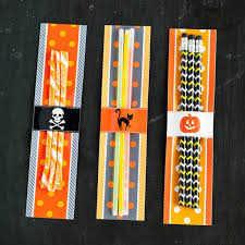 halloween design kit printable glow stick wrappers instant