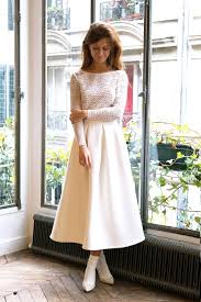 robe mariage civile robe mariage civil la ligne blanche l amusée