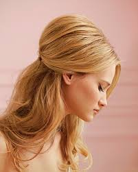 pictures of haircuts with lots of volume around crown half up and half down bridal hairstyles women hairstyles