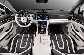 porsche panamera 2017 interior russia u0027s topcar gives all new porsche panamera a custom interior job