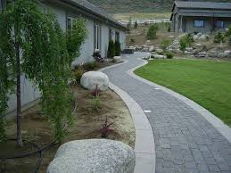 Slope For Paver Patio by Paver A Slope Decoration Installing Paver Restraints Lowes Patio