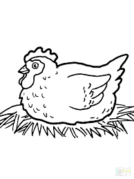 coloring page of a chicken chicken coloring pages hen coloring pages coloring page chicken hen