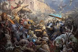 Home Artwork Decor Compare Prices On Warhammer Paintings Online Shopping Buy Low