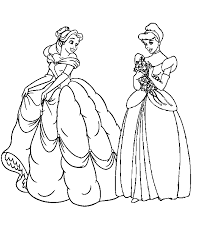 kids fun 33 coloring pages disney princesses