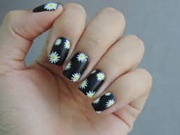 collection black and white nail designs pictures asatan