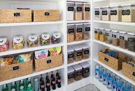 the container store 5 steps to an organized pantry with neat method and the container