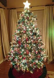 lofty ideas multi colored pre lit tree 7 trees 6 light ft