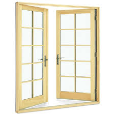 Wood Patio French Doors - impact hurricane french doors integrity doors
