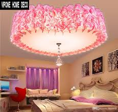 Bedroom Lights Ceiling Best Ceiling Lights Love Fashion Pink Bedroom Romantic Heart