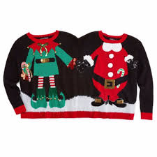 sweater for family and santa two person sweater royal family
