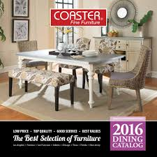 Coaster Dining Room Furniture 2016 Dining Catalog By Coaster Company Of America Issuu
