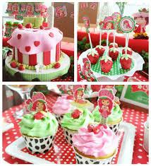 strawberry shortcake birthday party ideas dolls toys kara s party ideas