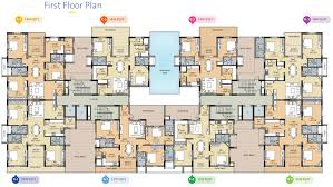 Open Office Floor Plan Layout by Esthell Golden Square By Esthell Homes In Velachery Chennai
