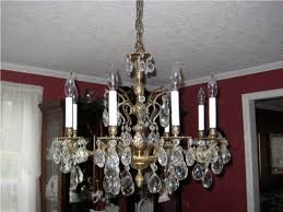 Brass Chandelier Improving Room Ambience With An Antique Brass Chandelier