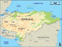 america map honduras honduras worldcrops