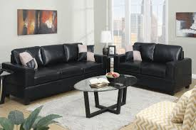 Furniture Set For Living Room by Black Leather Living Room Set S3net Sectional Sofas Sale