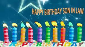 son in law birthday greeting video whatsapp u0026 facebook u0026 tsu hd