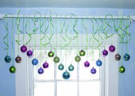 ornament window decorations place ornaments window unique ways