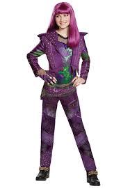 kids costumes disney descendants 2 mal deluxe costume kids costumes