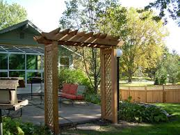 trellis with lattice sides dakota unlimited yard designs
