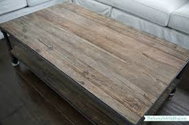 Restoring Barn Wood Restoration Hardware Balustrade Salvaged Wood Coffee Table 3d Mode