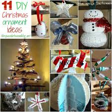 Homemade Christmas Tree by 11 Homemade Christmas Ornament Ideas