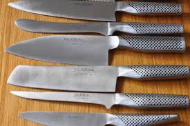 secondhand catering equipment chefs knives set of 12 global