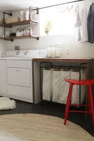 laundry in bathroom ideas basement laundry room i like the simplicity of this room the