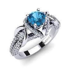 engagement rings topaz images Buy blue topaz engagement rings glamira co uk jpg