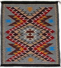 Arts And Crafts Style Rugs Outline Pattern Navajo Rugs Native American Rugs For Sale