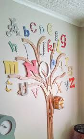 the alphabet track tree tracks wooden and