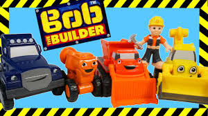 bob builder die cast toy vehicles mighty machines scoop