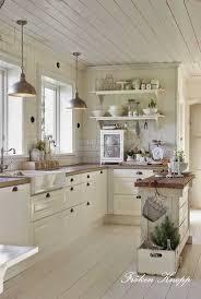 cuisine bois blanc beautiful deco cuisine blanc et bois photos ridgewayng com