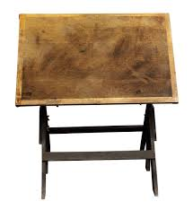 Antique Wood Drafting Table All Wood Drafting Table Olde Good Things