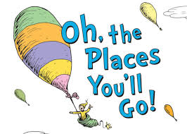 oh baby the places you ll go oh the places you ll go is the top selling book for graduation