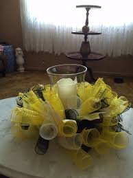 92 best candle ring centerpieces images on flower
