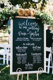 chalkboard wedding program 20 chic rustic chalkboard wedding sign ideas page 2 of 2