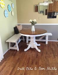 kitchen corner dinette booth corner breakfast nook table set 5