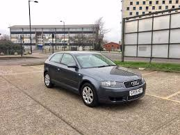 2005 audi a3 1 9 tdi sport u2013 grey 3 door diesel mot fsh in