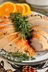 cooker citrus and herb turkey breast on timeout
