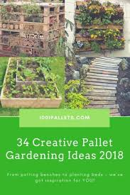 Pallets Garden Ideas Pallet Garden Ideas Our Best Plans Tutorials 1001 Pallets